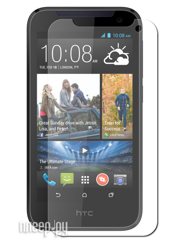 Аксессуар Защитная пленка HTC Desire 310 Red Line  Pleer.ru  528.000