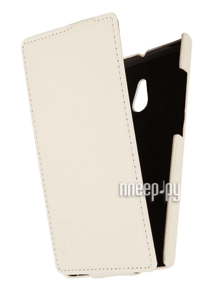 Аксессуар Чехол Nokia XL Aksberry White  Pleer.ru  1129.000