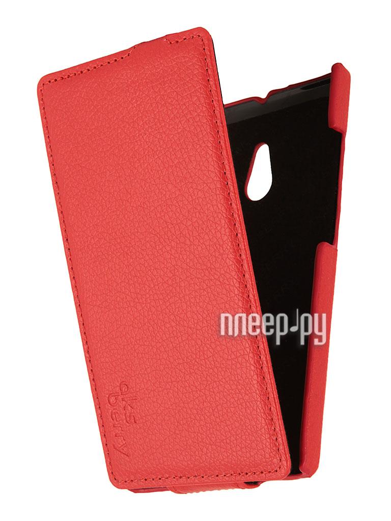 Аксессуар Чехол Nokia XL Aksberry Red  Pleer.ru  1129.000