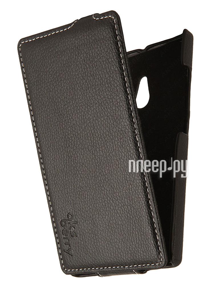 Аксессуар Чехол Nokia XL Aksberry Black  Pleer.ru  1129.000