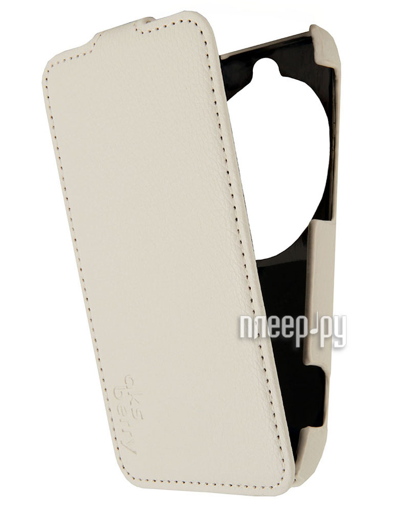 Аксессуар Чехол Samsung Galaxy K Zoom Aksberry White  Pleer.ru  1129.000