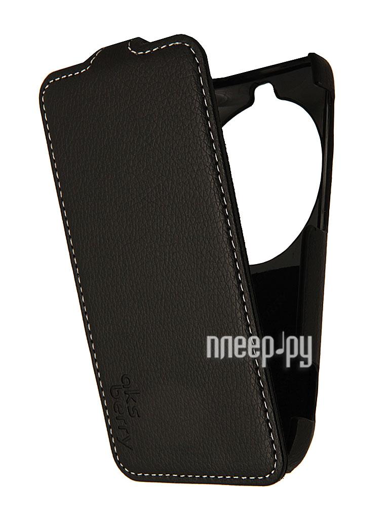 Аксессуар Чехол Samsung Galaxy K Zoom Aksberry Black  Pleer.ru  1129.000