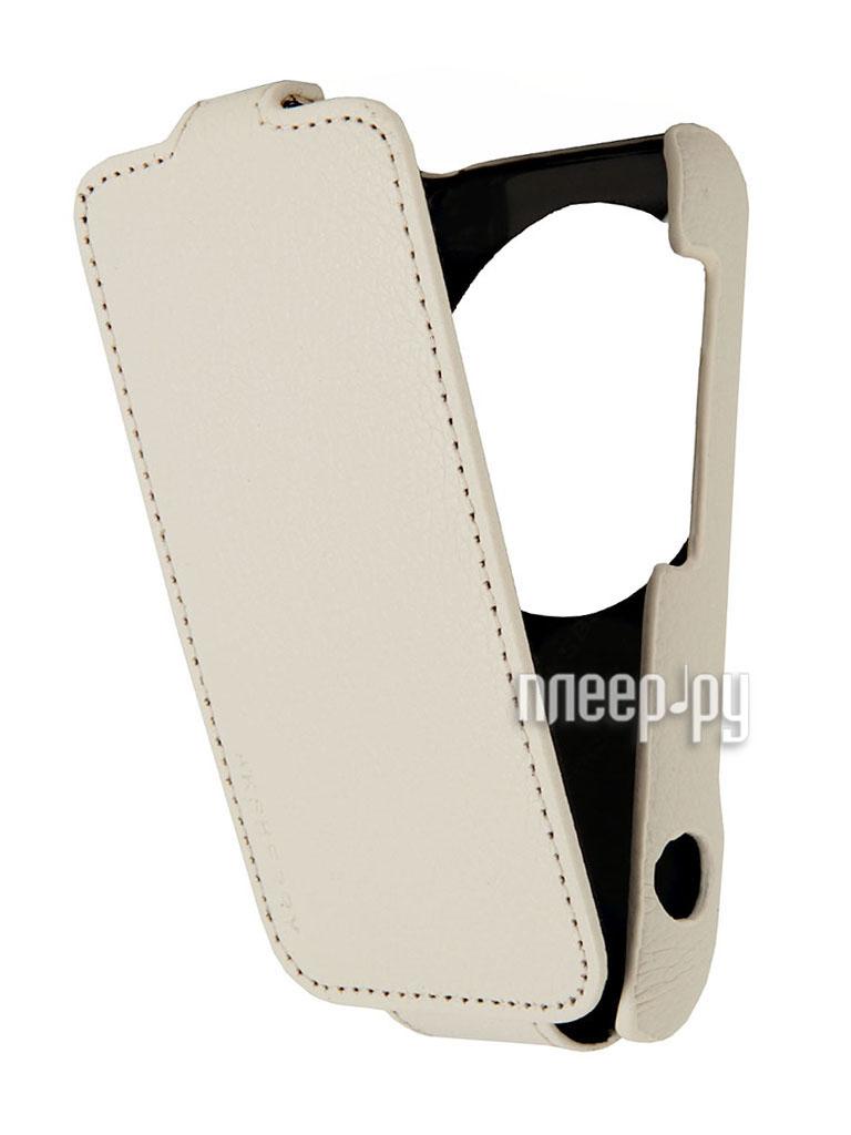 Аксессуар Чехол Samsung Galaxy S4 Zoom SM-C101 Aksberry White  Pleer.ru  1129.000