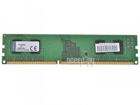 Модуль памяти Kingston DDR3 DIMM 1333MHz PC3-10600 - 2Gb KVR13N9S6/2