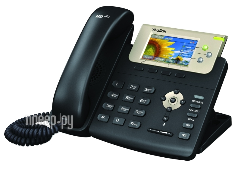 VoIP оборудование Yealink SIP-T32G  Pleer.ru  7268.000