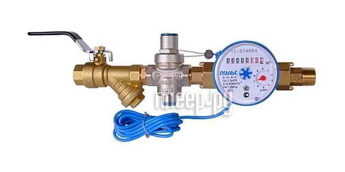 Счетчик воды Пульс 15-ИХ  Pleer.ru  537.000