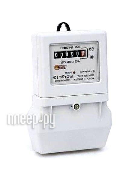 Счетчик электроэнергии Тайпит Нева 101 1S0 1ф 5-60А 220В  Pleer.ru  700.000