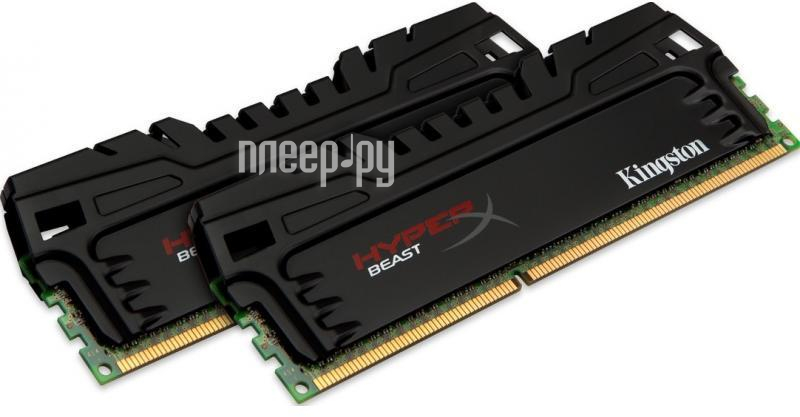 Модуль памяти Kingston HyperX Beast PC3-17000 DIMM DDR3 2133MHz - 16Gb KIT (2x8Gb) KHX21C11T3K2/16X  Pleer.ru  7348.000