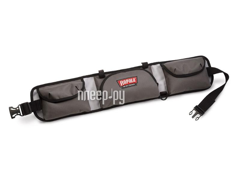 Аксессуар Пояс Rapala Sportsman 10 Tackle Belt Grey 46007-2  Pleer.ru  587.000