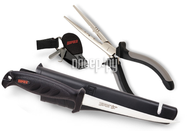 Аксессуар Rapala RTC-6P136C - набор - плоскогубцы, нож, кусачки