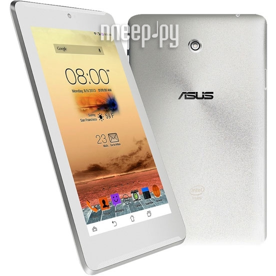 Планшет ASUS Fonepad 7 FE170CG 4Gb White 90NK0126-M03460 Intel Atom Z2520 1.2 GHz/1024Mb/4Gb/Wi-Fi/3G/Bluetooth/GPS/Cam/7.0/1024x600/Android 4.3  Pleer.ru  4938.000