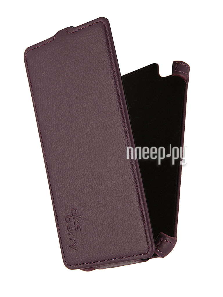 Аксессуар Чехол Explay Rio / Rio Play Aksberry Purple  Pleer.ru  1129.000
