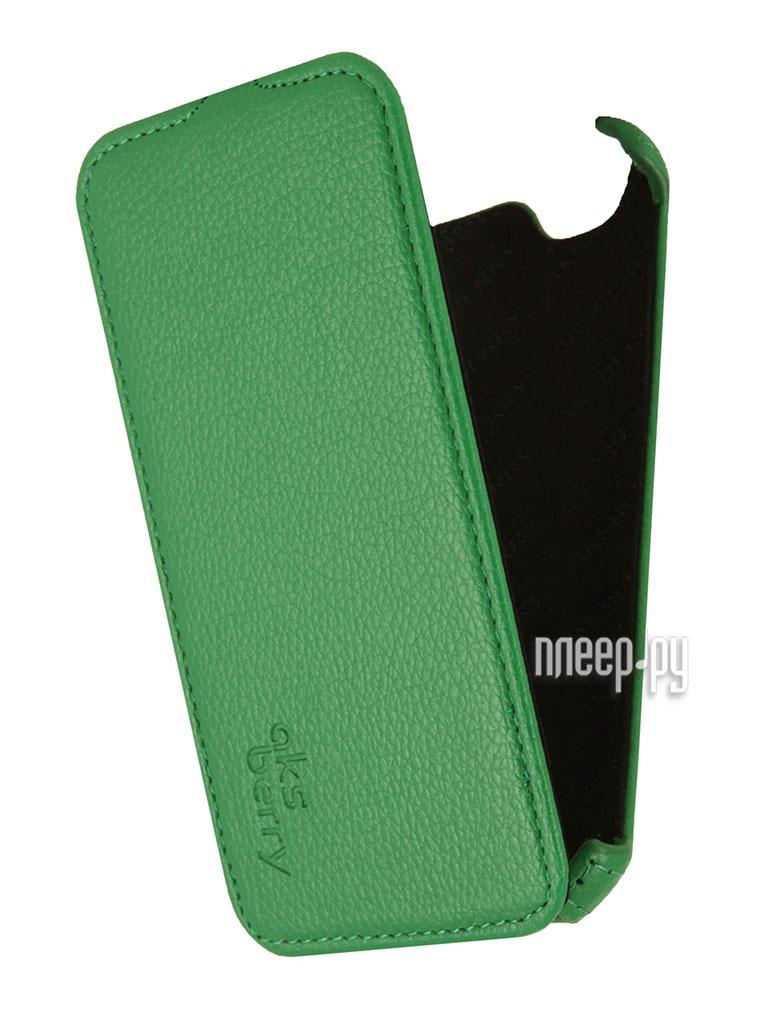 Аксессуар Чехол Fly IQ458 EVO Tech 2 Aksberry Green  Pleer.ru  1129.000