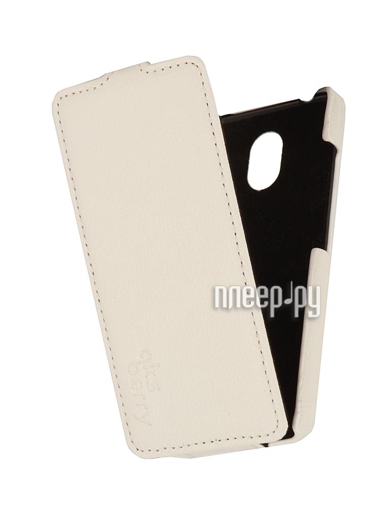 Аксессуар Чехол HTC Desire 210 Aksberry White  Pleer.ru  1129.000