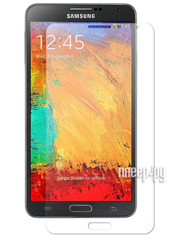 Аксессуар Стекло защитное Samsung GT-N9000 Galaxy Note 3 Media Gadget Tempered Glass 0.33mm закругленные края TG008  Pleer.ru  721.000
