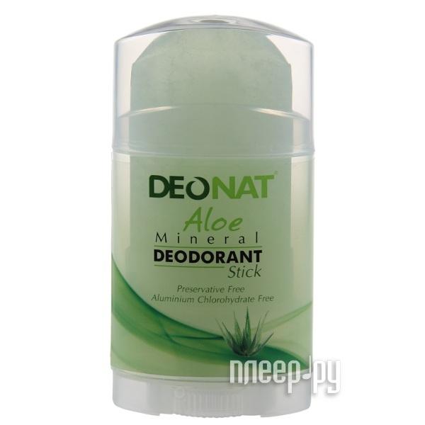 Дезодорант DeoNat кристалл 80г с экстрактом Алоэ  Pleer.ru  341.000