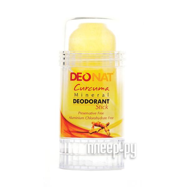 Дезодорант DeoNat кристалл 80г с Куркумой  Pleer.ru  216.000