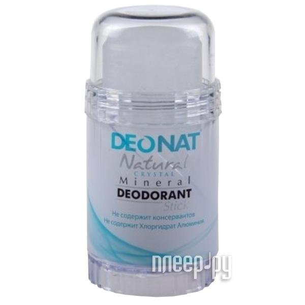 Дезодорант DeoNat кристалл 80г цельный  Pleer.ru  222.000