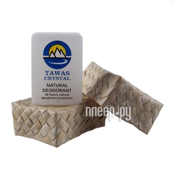 Дезодорант Tawas Crystal кристалл в футляре из пальмы Бури 125г  Pleer.ru  351.000
