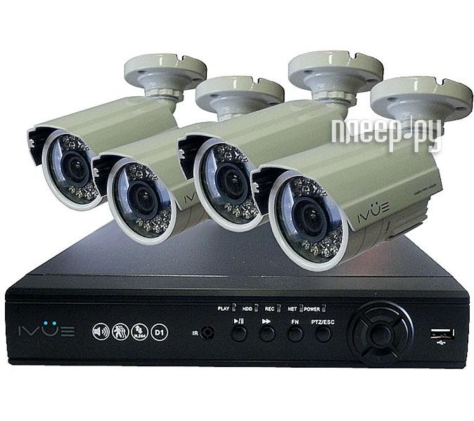 Видеонаблюдение iVUE Начальный 4 6804VK-CI6030-ICR  Pleer.ru  9452.000