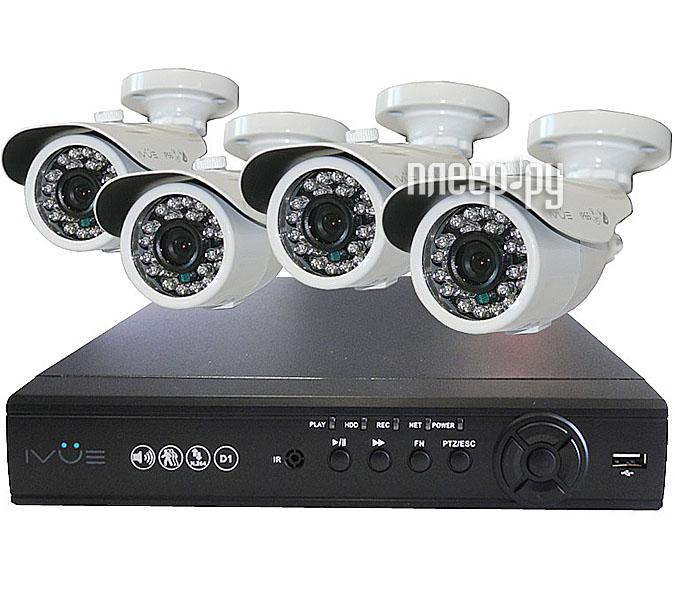 Видеонаблюдение iVUE Стандарт 4 Дача 6804VK-CB60  Pleer.ru  10431.000