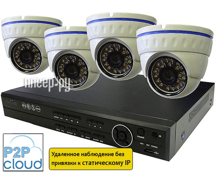 Видеонаблюдение iVUE 960H PRO 4 5004K-DN70A-F1  Pleer.ru  12910.000