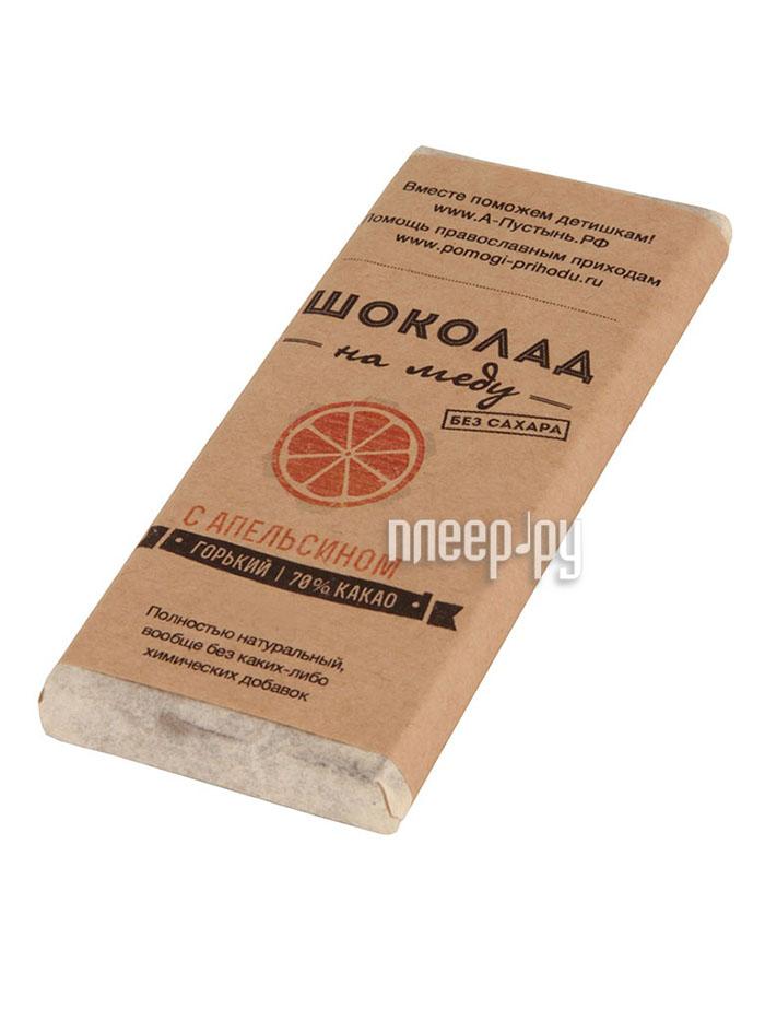 Благое дело Сладкая плитка натуральная с Апельсином - в помощь детишкам  Pleer.ru  227.000