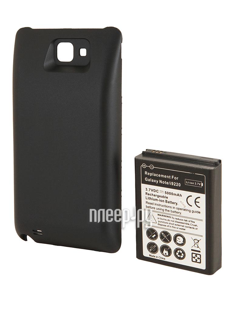 Аксессуар Аккумулятор Samsung GT-i9220 Galaxy Note Ainy 5000mAh Black  Pleer.ru  955.000