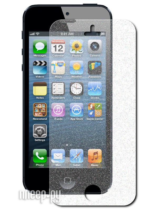 Аксессуар Защитная пленка Ainy for iPhone 5 White  Pleer.ru  565.000