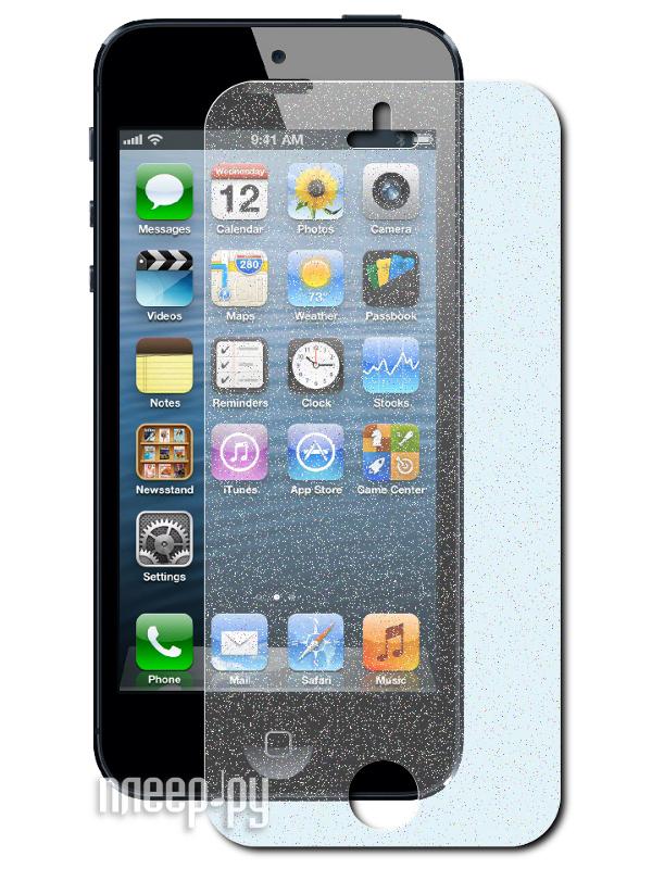 Аксессуар Защитная пленка Ainy for iPhone 5 Blue  Pleer.ru  565.000