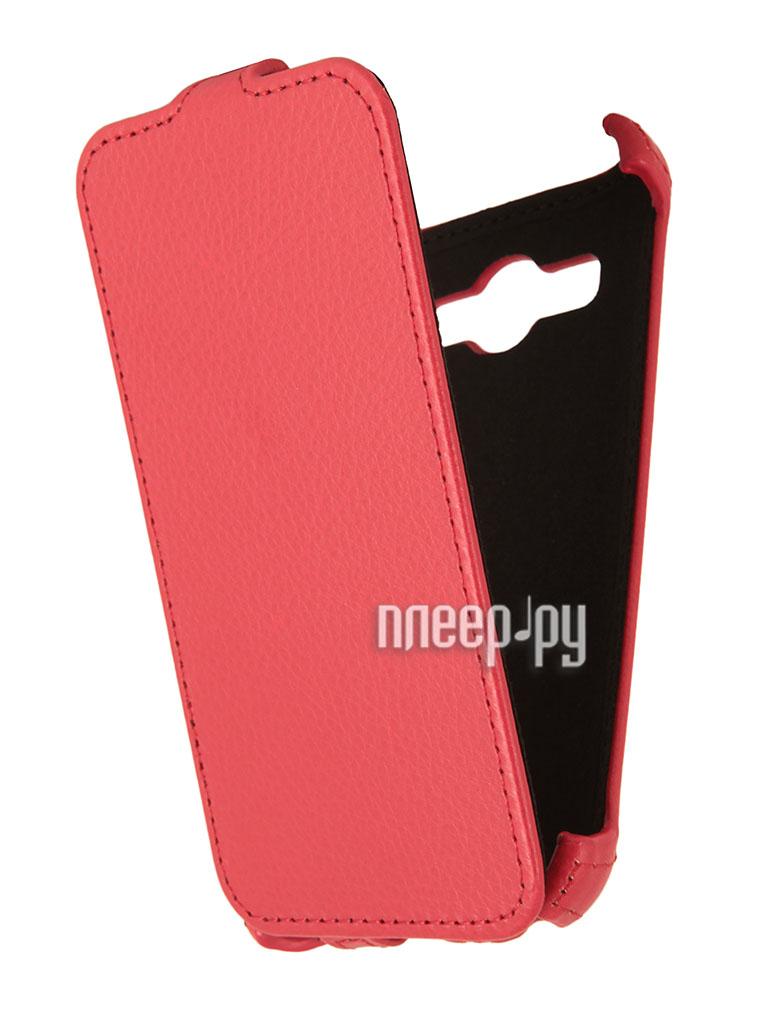 Аксессуар Чехол Samsung GT-i8580 Galaxy Core Advance Ainy Red  Pleer.ru  1001.000