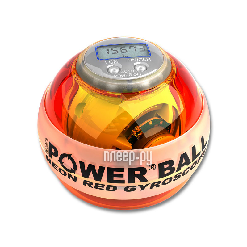 Тренажер кистевой Powerball 250 Hz Neon Pro PB-688LC Amber  Pleer.ru  1561.000
