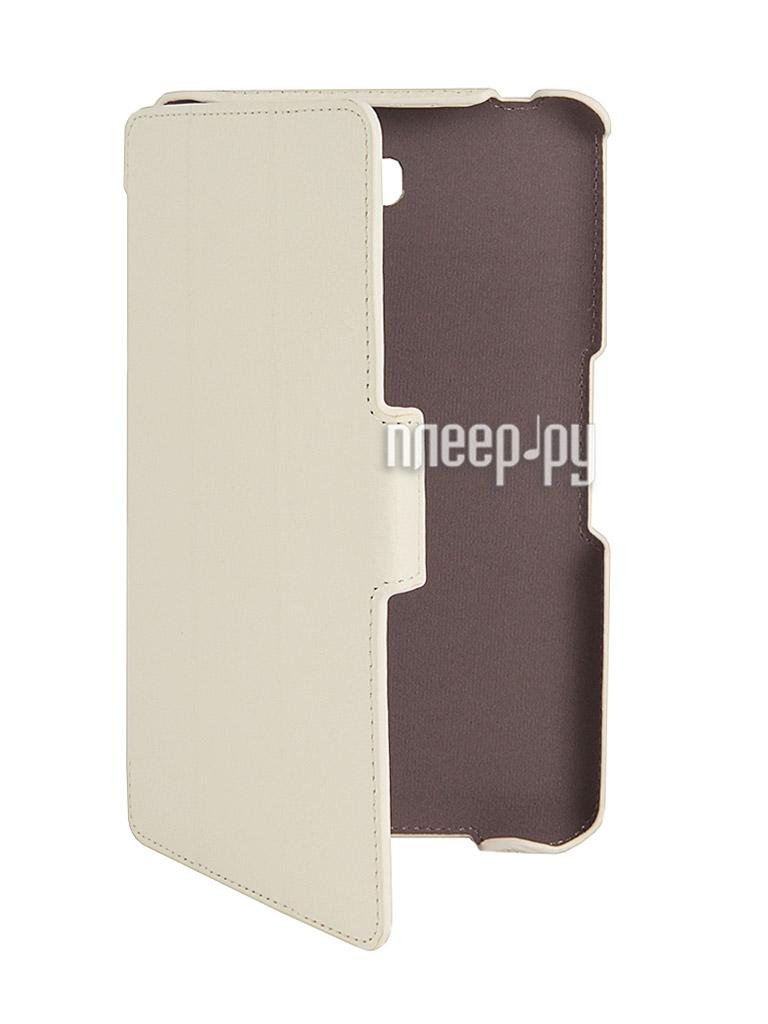 Аксессуар Чехол Samsung Tab 4 8.0 SM-T331 Armor Air Lychee Slim White  Pleer.ru  899.000