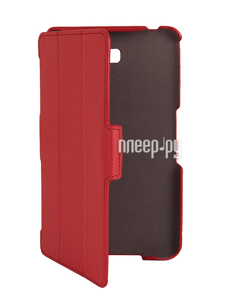 Аксессуар Чехол Samsung Tab 4 8.0 SM-T331 Armor Air Lychee Slim Red  Pleer.ru  899.000