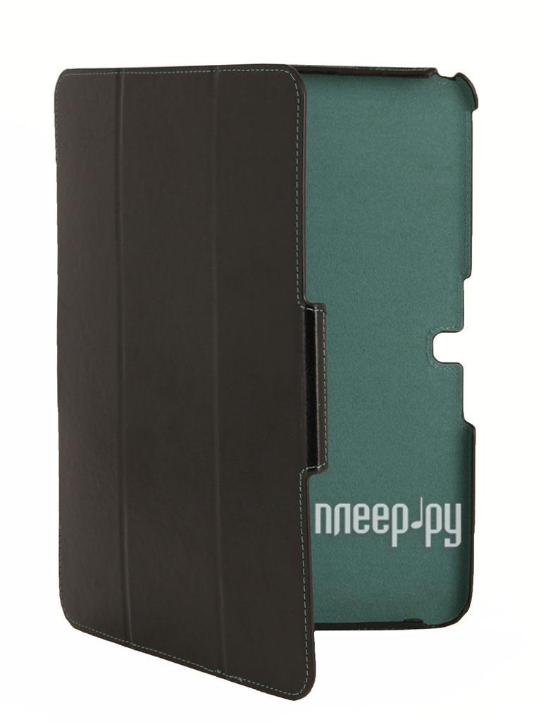 Аксессуар Чехол Samsung Tab 4 10.1 SM-T531 Armor Air Sleek Slim Black-Turquoise  Pleer.ru  899.000
