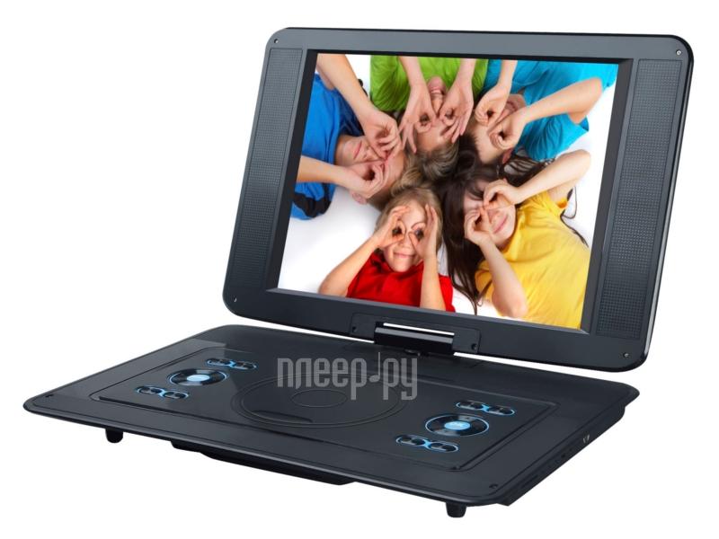 DVD плеер Rolsen RPD-15D07TBL Black  Pleer.ru  5041.000
