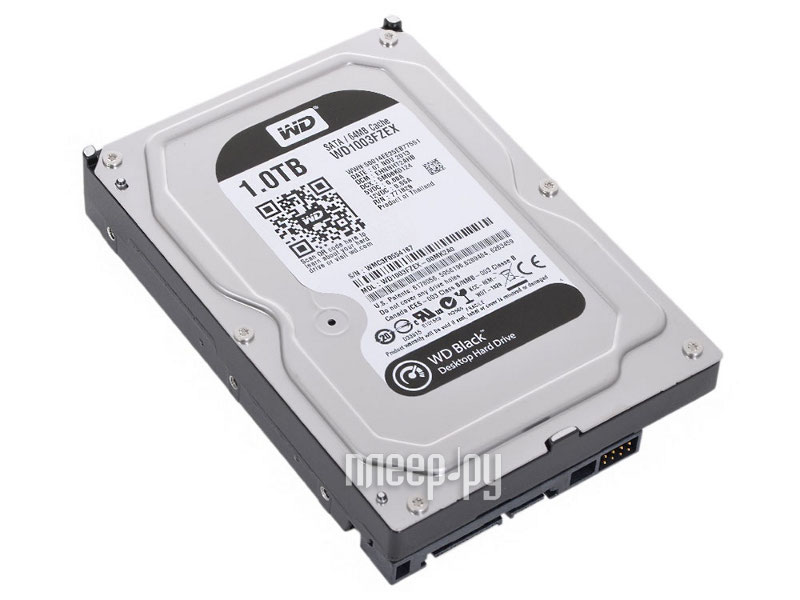 Жесткий диск 1Tb - Western Digital WD Black WD1003FZEX  Pleer.ru  2965.000