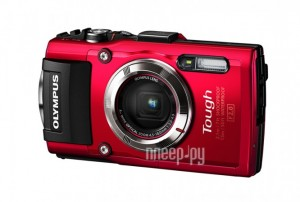 Фотоаппарат Olympus Stylus Tough TG-3 Red