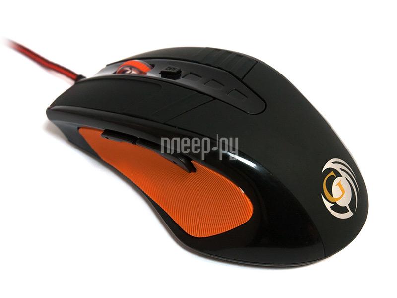 Мышь проводная Dialog Gan-Kata MGK-40U Black USB  Pleer.ru  347.000