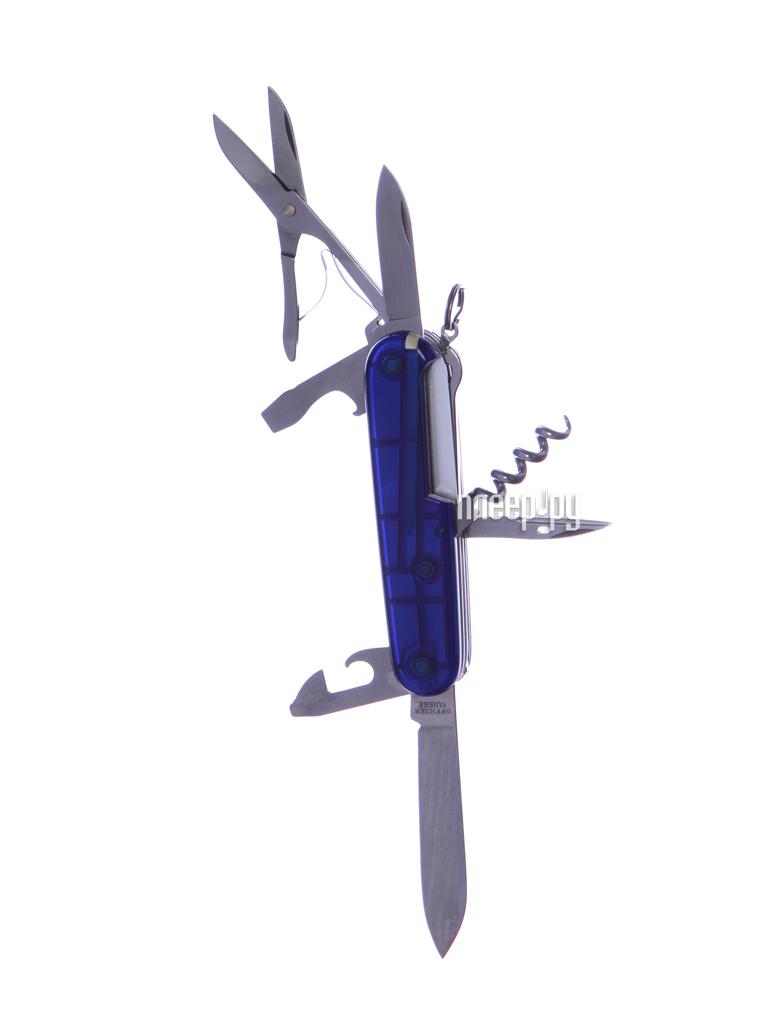 Мультитул Victorinox Climber 1.3703.Т Translucent Red  Pleer.ru  897.000