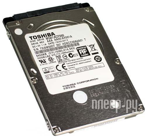 Жесткий диск 320Gb - Toshiba MQ01ACF032  Pleer.ru  1883.000