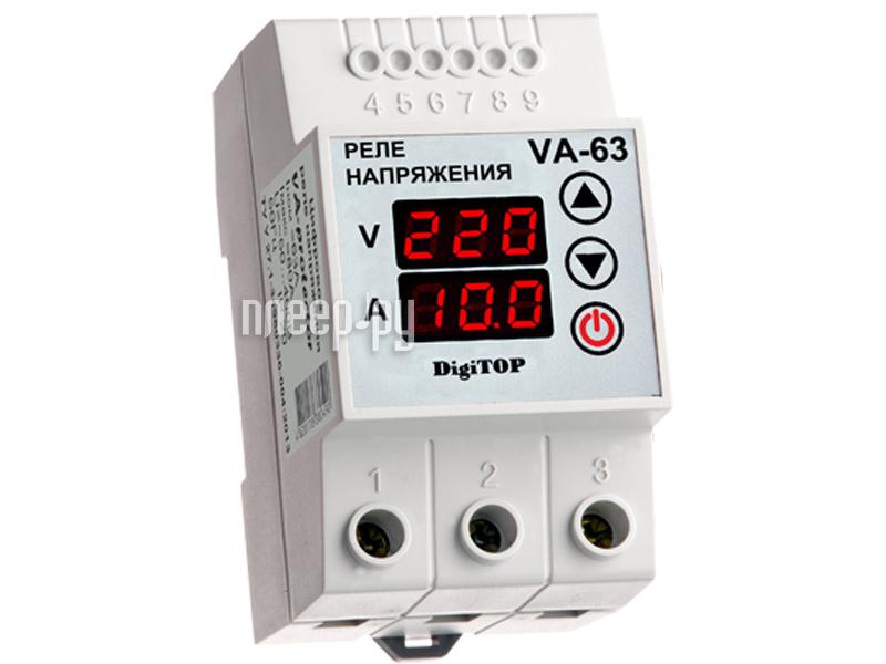 Терморегулятор Digitop VA-63 - реле напряжения  Pleer.ru  2788.000
