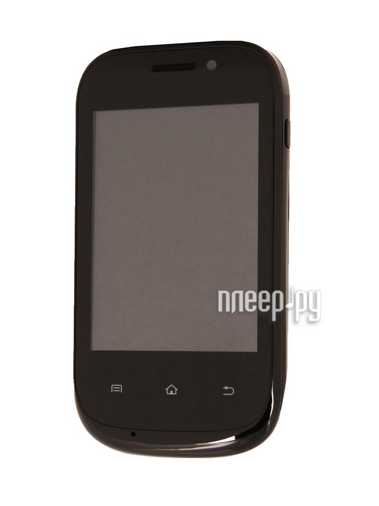 Сотовый телефон Qumo Quest 321 Black  Pleer.ru  2281.000