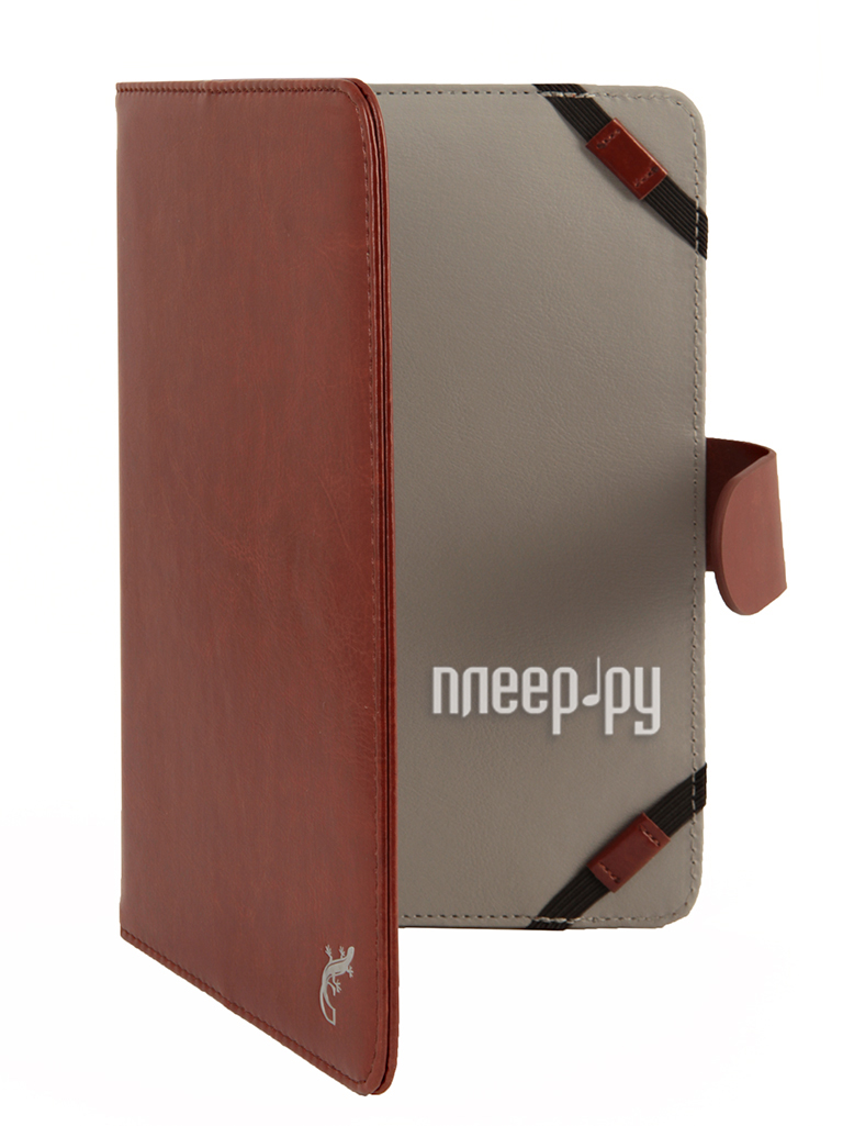 Аксессуар Чехол 7.0 G-Case Business универсальный Brown GG-420  Pleer.ru  1101.000