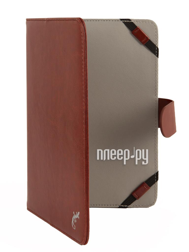 Аксессуар Чехол 8.0 G-Case Business универсальный Brown GG-418  Pleer.ru  1101.000