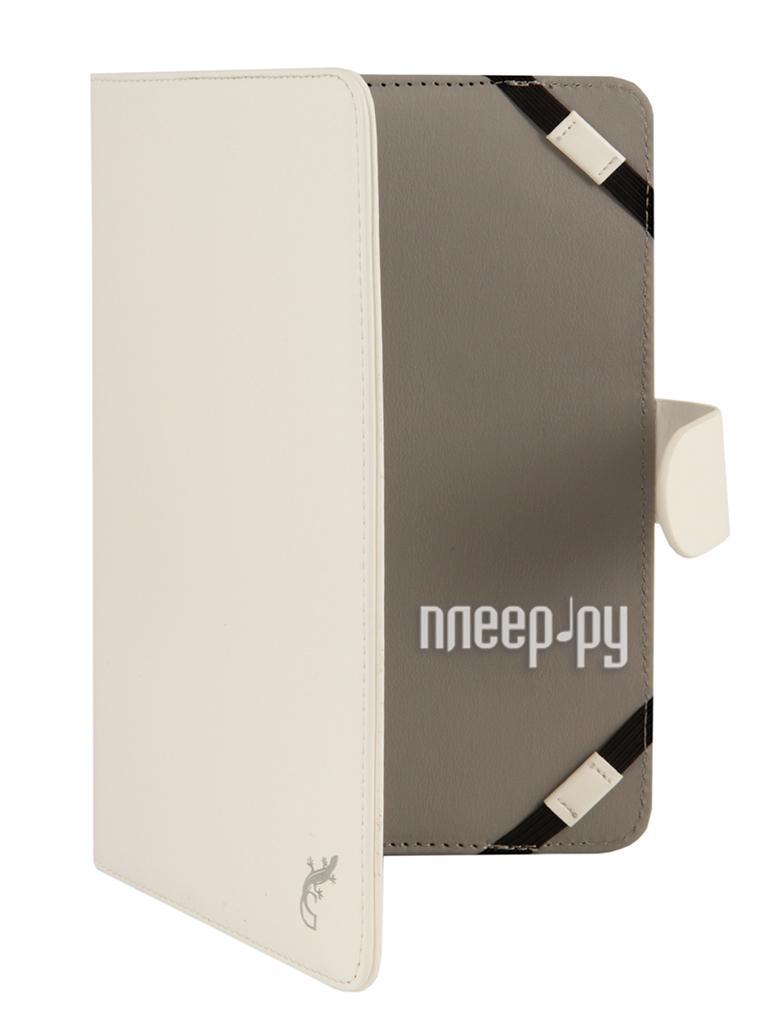 Аксессуар Чехол 8.0 G-Case Business универсальный White GG-449  Pleer.ru  1101.000