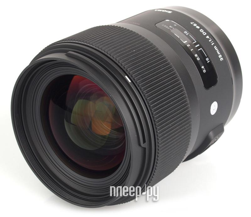 Объектив Sigma Pentax AF 35 mm F/1.4 DG HSM  Pleer.ru  28457.000