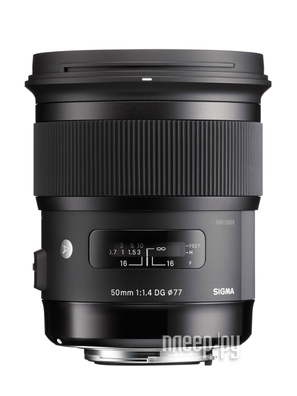 Объектив Sigma Canon AF 50 mm F/1.4 DG HSM ART  Pleer.ru  32844.000