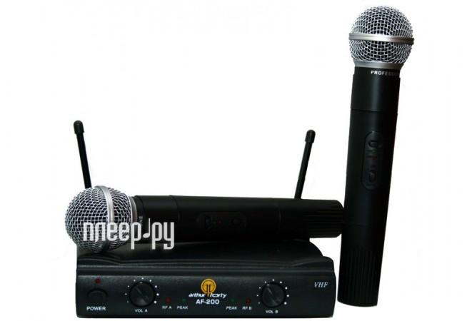 Радиомикрофон Arthur Forty PSC VHF AF-200  Pleer.ru  3996.000