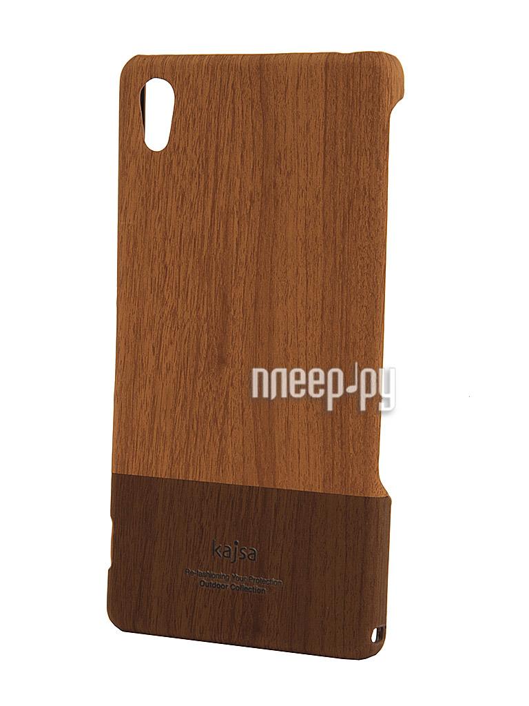 Аксессуар Чехол Sony Xperia Z2 Kajsa Outdoor Collection Wood Caramel 3-OW-Z2-LB  Pleer.ru  1290.000